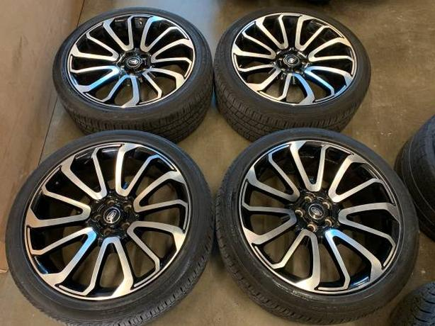 RANGE ROVER REPLICA OEM WHEELS/TIRES