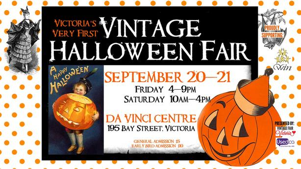 Vintage Halloween Fair - Fun for All!