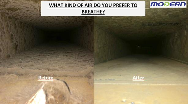 Air duct cleaning done by a certified pro