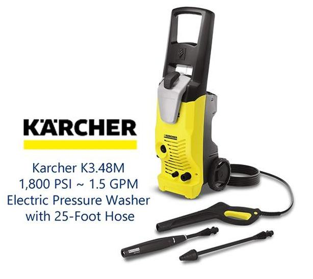 Kärcher 1800 PSI Pressure Washer