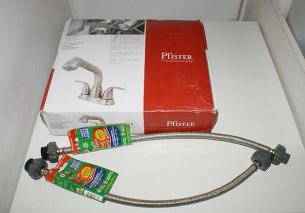  Log In needed $55 · PFISTER LAUNDRY FAUCET/PULL OUT SPRAY & CLICK SEAL  FAUCET CONNECTORS NEW