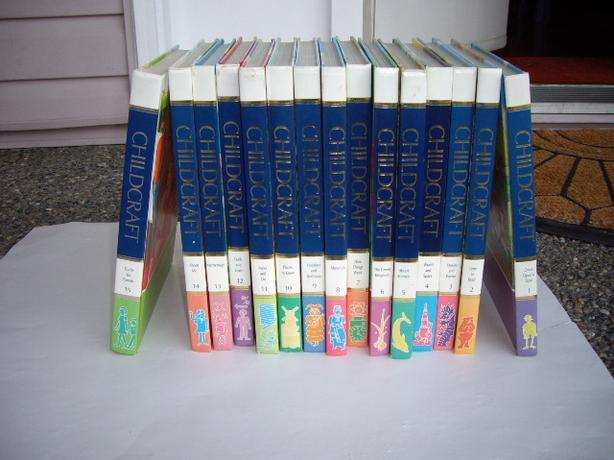 CHILDCRAFT BOOKS VOLS 1 - 15 1988