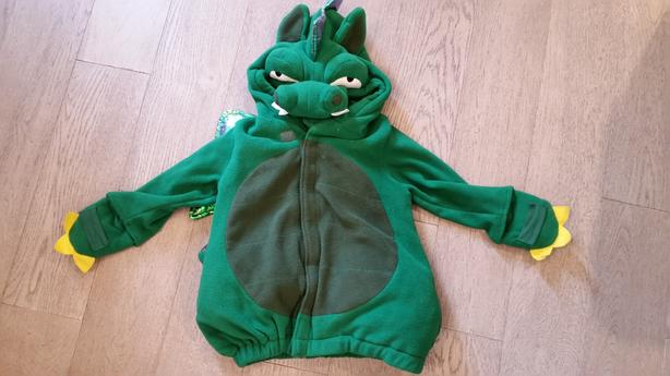 Dragon halloween costume size 12-24 months