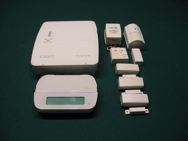 DSC Alexor Home Security System Hardware