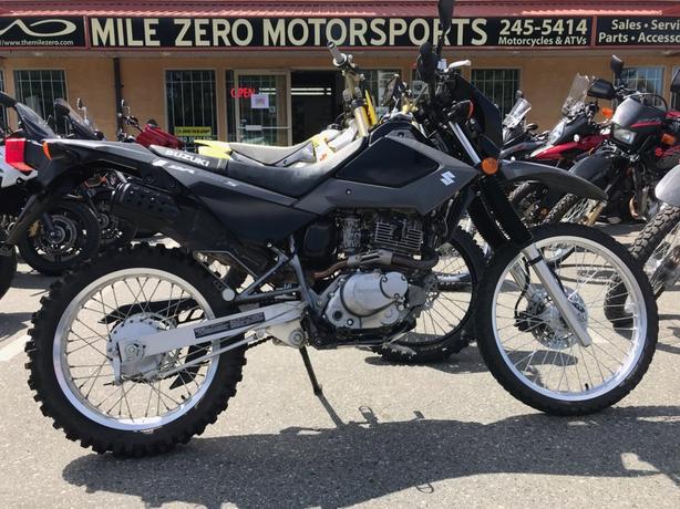 2016 Suzuki DR200S.
