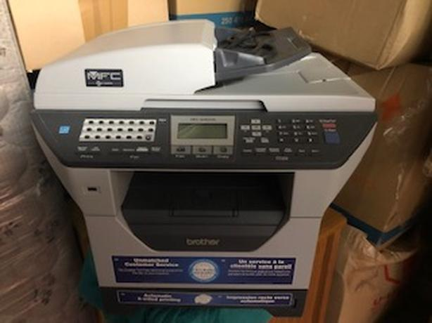 Used Brother MFC-8480DN High-Performance Laser All-in-One Printer