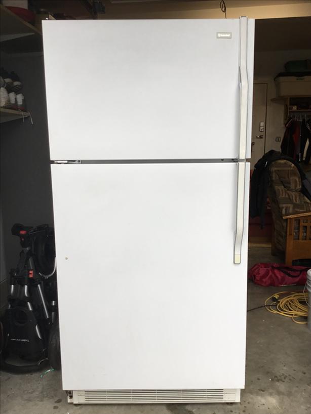 White super clean fridge