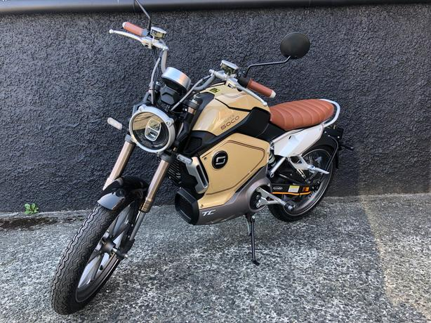 Motorino Super Soco TC Electric limited speed motorcyle