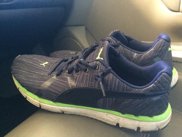 Men's puma running shoes! $40obo