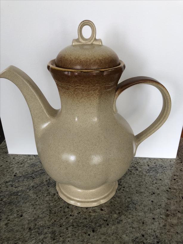 Vintage Mikasa WHOLE WHEAT Coffee Pot