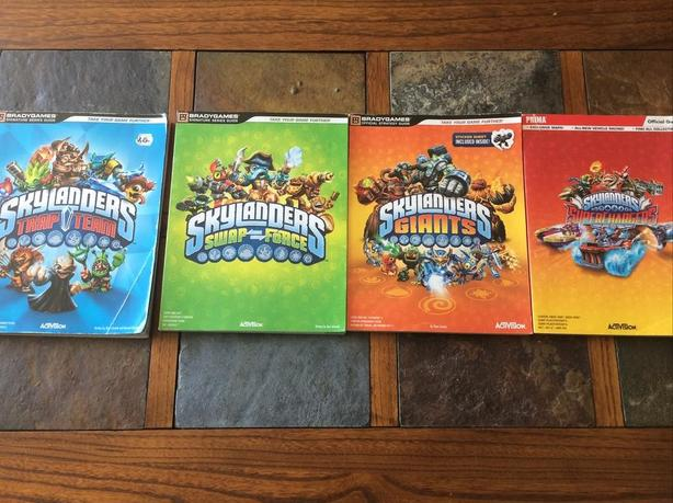 Official Skylanders Game Guides