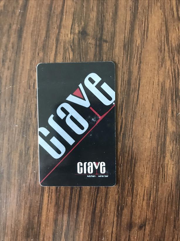 $40 for a  $50 Crave gift card