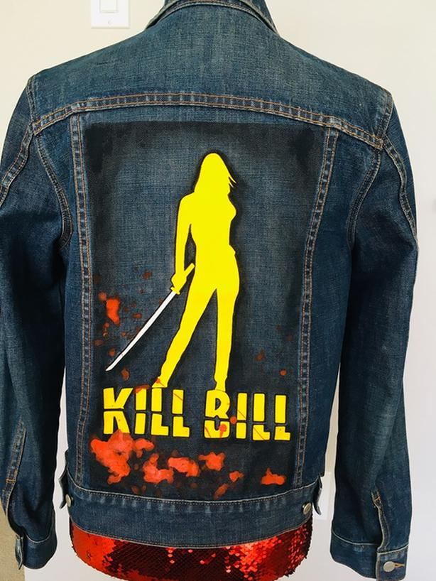 Kill Bill jean Jacket
