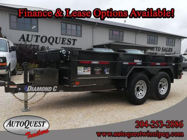 "2020 Diamond C - EDM 12' x 60"" Dump Trailer - 9 890 lbs"