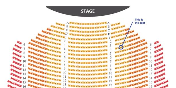 Rent Broadway Tour Ticket in Vancouver
