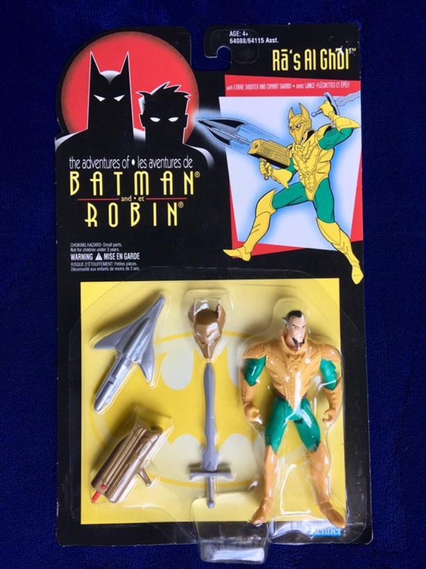DC Comics The Adventures of Batman and Robin Ras Al Ghul Action Figure 1995
