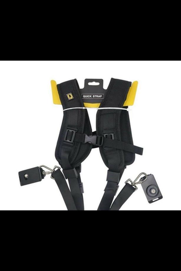 Dual camera strap