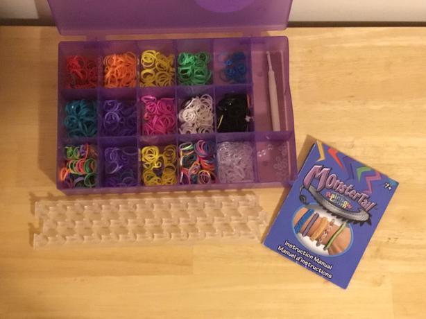 Rainbow loom bracelet kit/supplies