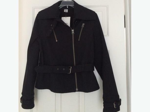 jacket black jockey denim,NW.T- machine washable