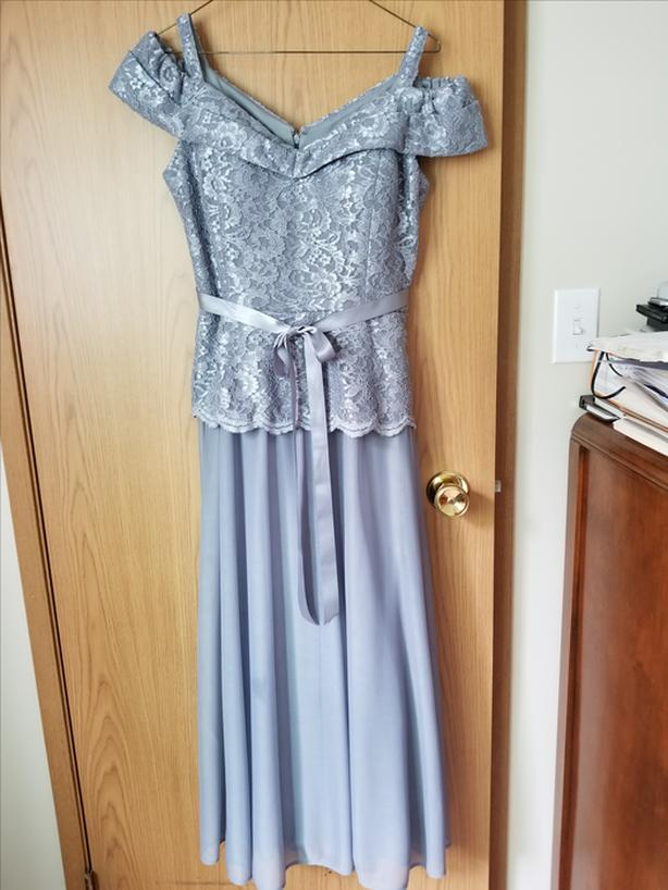 Grey Evening Gown