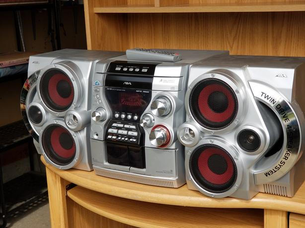 Stereo System and 2 Speakers