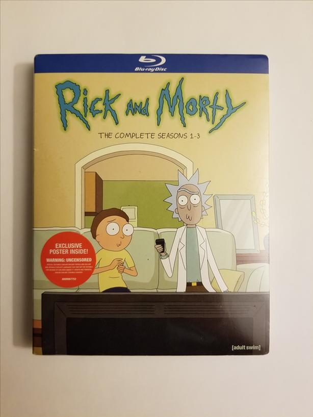 Rick And Morty: The Complete Seasons 1-3 on Blu-ray