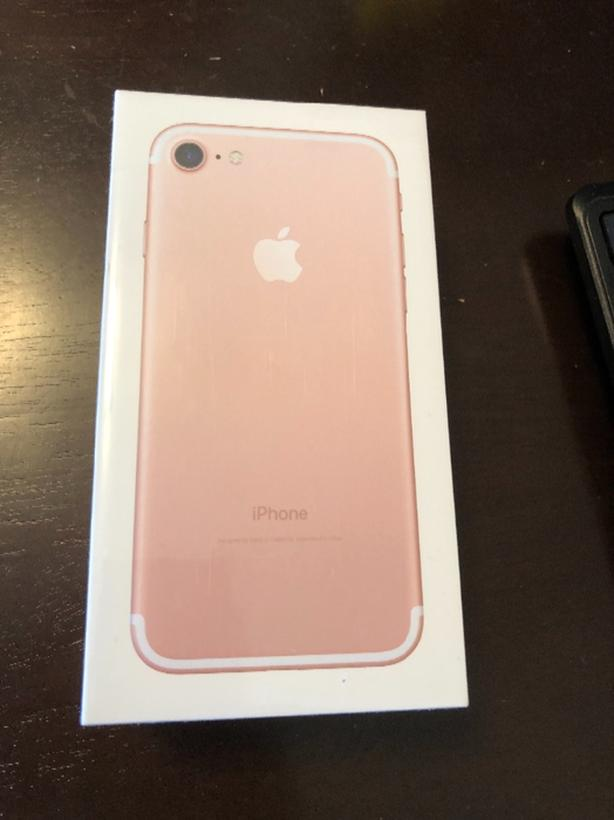 iPhone 7 32G rose gold