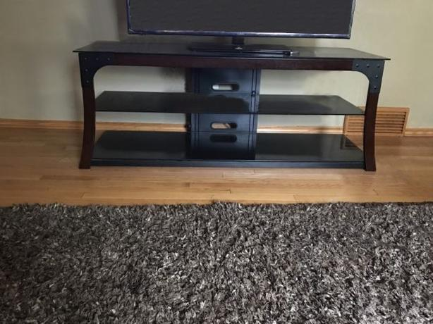 Audio video and media TV stand