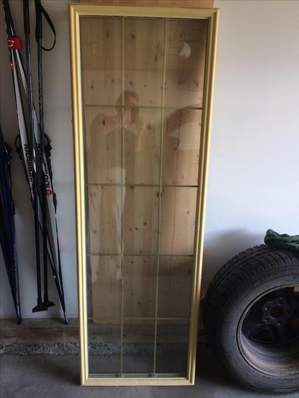 FREE:  Glass door insert