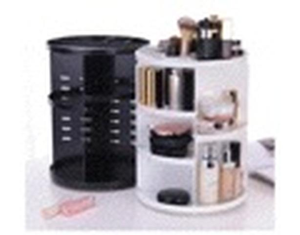 Rotating make up orgnizer