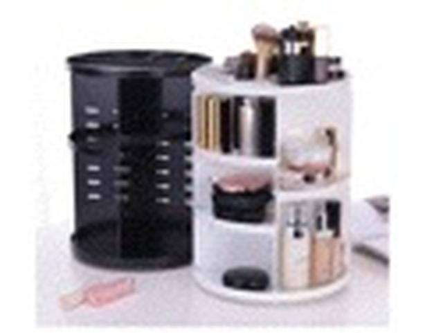 Rotating make up orgnizer