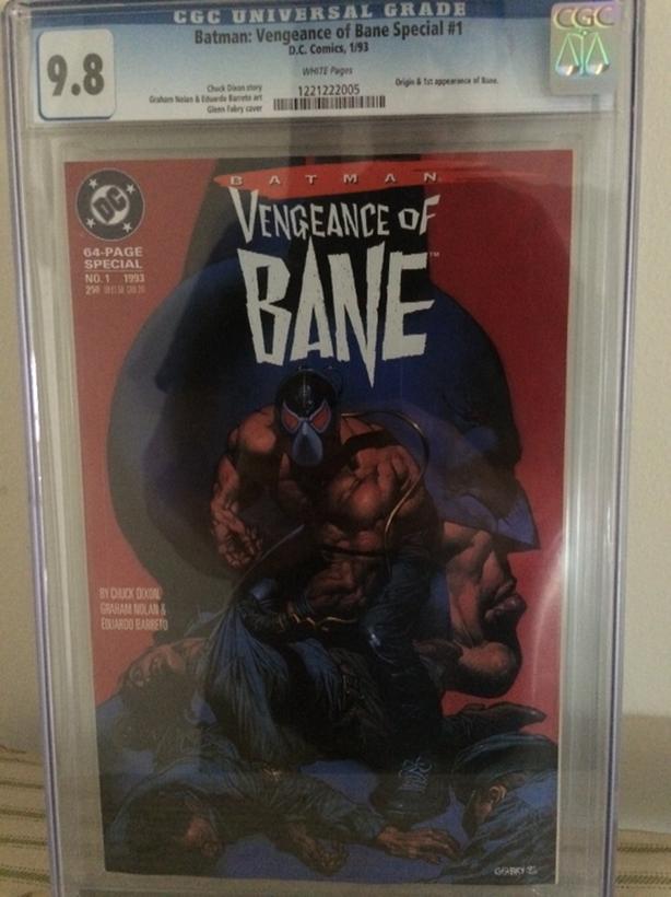Batman: Vengence of Bane #1 and Batman #497