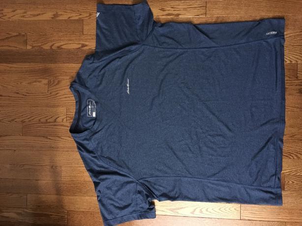 New Eddie Bauer freedry shirt