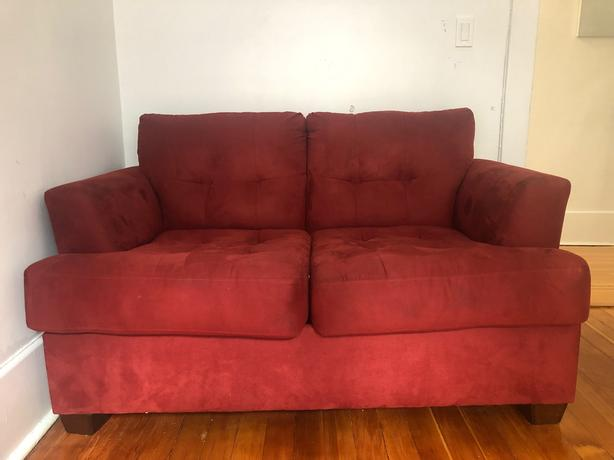 FREE: Comfortable Love Seat Couch