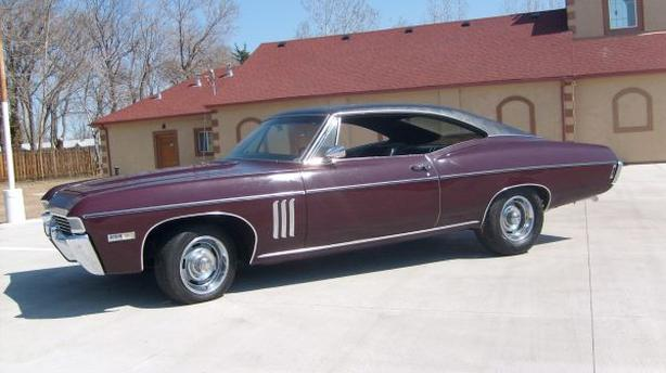 WANTED: WANTED: 1968 Impala SS427