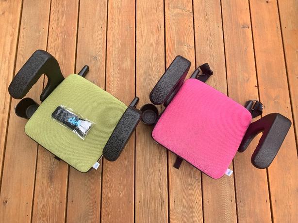 2 Clek Olli Booster seats w/ accessories