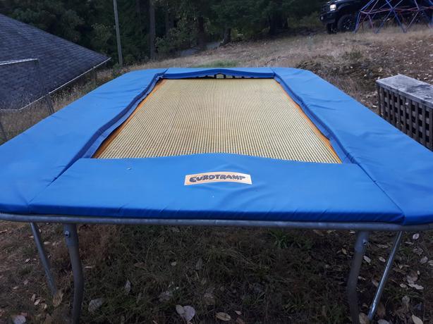 Eurotramp rectangular trampoline