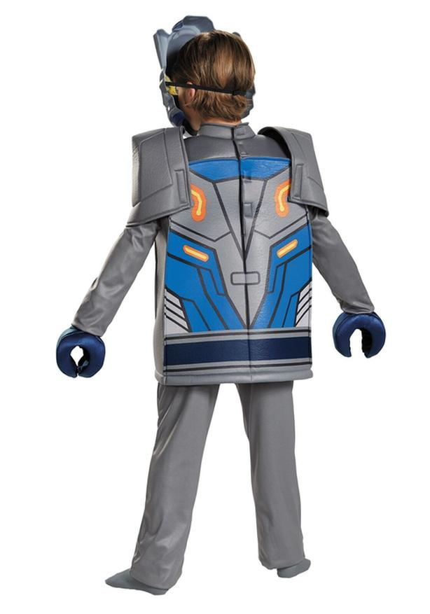 Details about  /Lego Child Nexo Knights Plastic Mask Costume Gray One Size New!