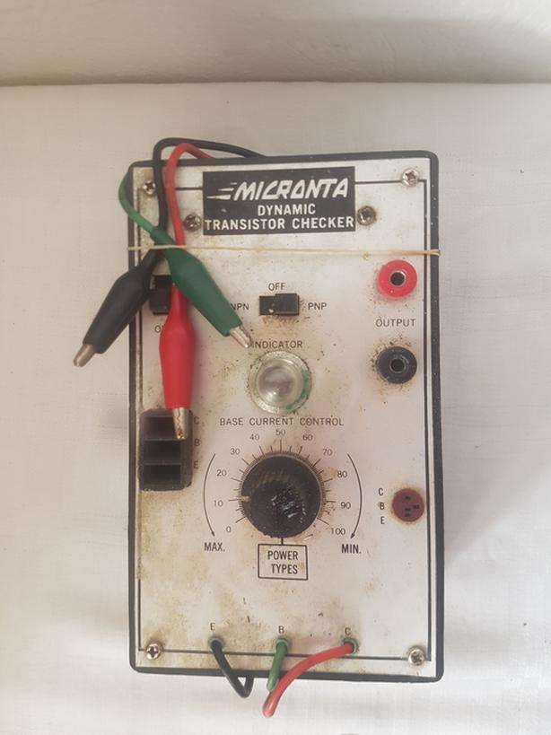 Vintage MICRONTA Dynamic Transistor Checker