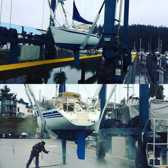 YAMAHA 26 sloop with Yanmar diesel
