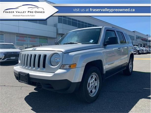 2012 Jeep Patriot SPORT  - $100 B/W