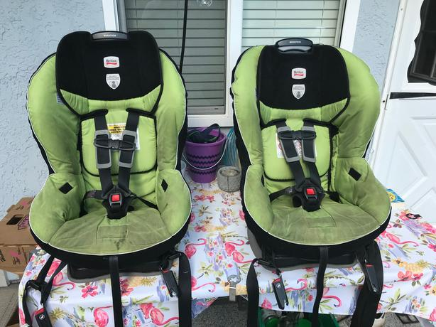 TWO BRITAX MARATHON CAR SEATS