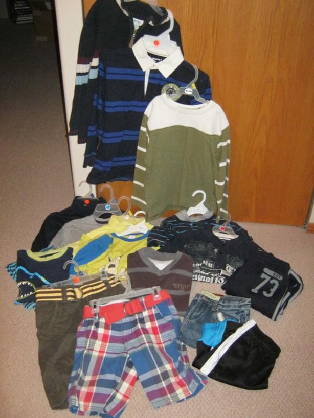 9 boys clothing items in size 7-8