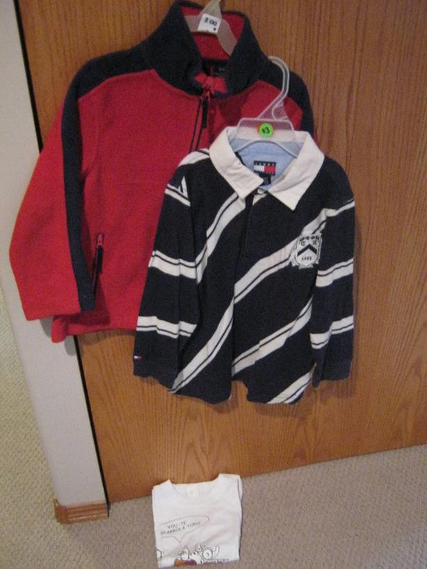 2 boys clothing items in size 4