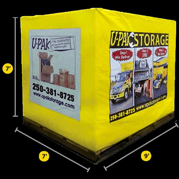 UPAK STORAGE :  IF YOU'RE STORING ANYWHERE ELSE YOU'RE PAYING TOO MUCH!!