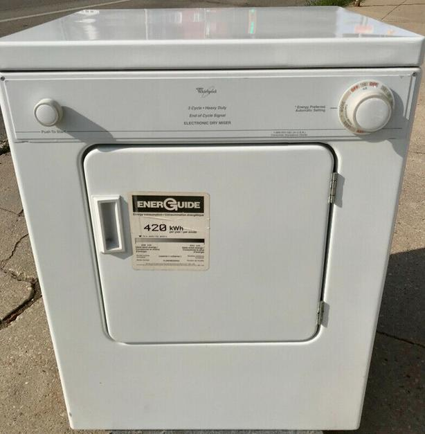 Whirlpool 110V Compact Dryer
