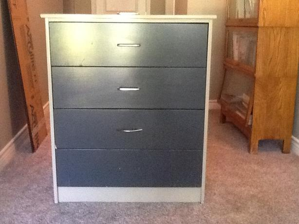 FREE: four drawer dresser - solid and in good condition
