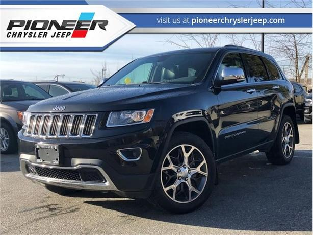 2016 Jeep Grand Cherokee Limited  - Sunroof - Leather