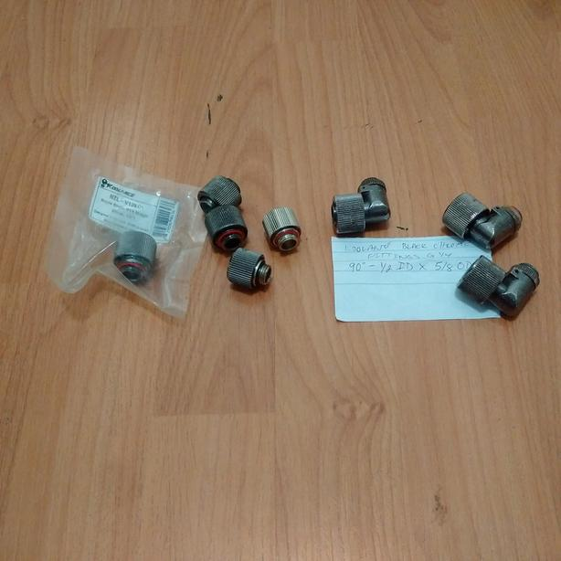 1/2 ID x 5/8 OD water cooling fittings