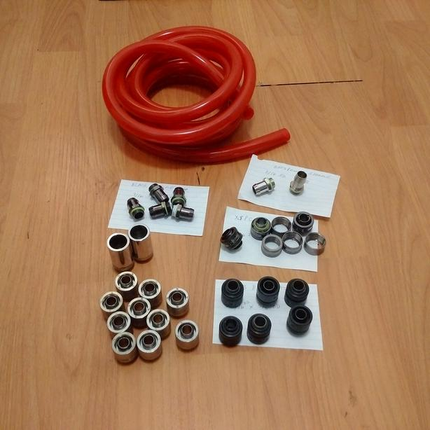 7/16 ID x 5/8 OD water cooling fittings